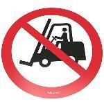 Floor-sign: Mandatory-, Prohibitive-, Warning-, Notice Sign