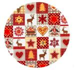 Christmas Theme Paper Plate
