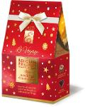 EMOTI Assorted Chocolates, RED-GOLD Gift Bag 75g (bow decora