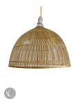 Bamboo Pendant Light in Boho Style