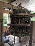 Combined vent cutter/opening machine, Stork
