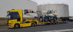 Transport maritime véhicule hors gabarit France Maroc