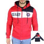 Manufacturer men hooded jacket licenced RG512