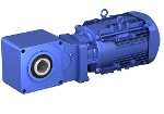 Bevel Buddybox - BBBH Getriebemotor