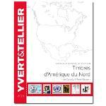 Yvert et Tellier AMERIQUE DU NORD 2016 (Timbres des pays d'A