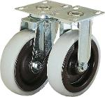 Swivel and fixed castors heavy-duty version