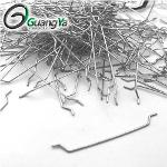 Extremo enganchado de fibra de acero suelto