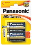 Batterie mezza torcia Alcaline Power 2 pz