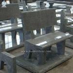Grey Granite Grave Bench Monuments