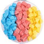 Colorful sugar cubes