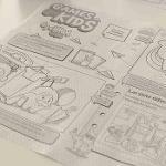 Mantel Individual de papel Kids 30×40cm