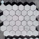White Marble Wall Cladding Mosaic Wall Tiles