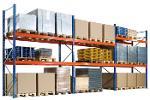 Pallet racking, 3 bays, 3000x8444x1100 mm, storage rack