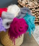 Mohair Scarves, Throws/Blankets and Fashion Wear
