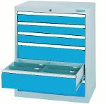 Drawer cabinet series T500-9 with 6 drawers, different...