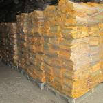 Bags of firewood for sale