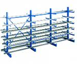 K 1000 cantilever racking, 2000x5000x2x500 mm