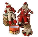 Lovely christmas pattern gift box