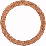 Sealing ring made of cork (used with a metal beaker)
