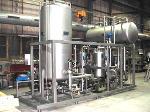 Plants, apparatus, pressure vessels construction