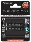 Batterie ministilo ricaricabili Eneloop Pro 2pz
