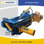 Ferrous and non ferrous metal baling press machine with CE