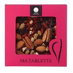 Tablette Chocolat Noir Et Fruits Secs Façon Mendiants 100 G