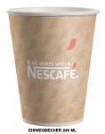 Nescafe Einwegbecher 0,2l (50 Stck.)