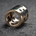 SLGL 5001 - Bronze u. Messing Gleitlager mit Schmierstiften