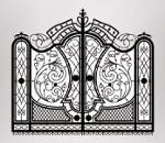 Ręcznie kute, bogato zdobione bramy – produkcja i eksport