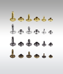 """1/2"""" (11mm) Single Capped Tubular Rivets And Pins (100 Pcs Of Each)"""