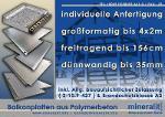 Balkonplatten aus Polymerbeton