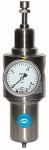 Stainless steel filter regulator, 1.4404, G 1/4, 1 - 15 bar