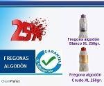 25% de descuento en fregonas de algodon XL