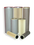 pleated paper cartridges