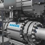 BORSIG Shut-off ball valve
