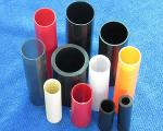 plastic pipes and tubes