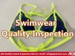 Swimsuit product inspection service
