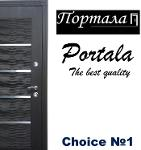 Exterior steel scurity mdf doors High quality Portala
