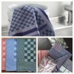 Essuies de vaisselle de qualité en coton