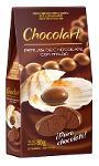 Perles de chocolat confit enrobées de chocolat au lait
