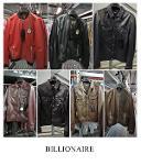 BILLIONAIRE, men's leather jackets