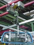Pneumatisches Seilhubgerät VECTOR VS für Lasten bis 388 kg