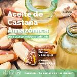 Aceite de castaña amazónica