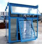Operator cabins for claw / gantry cranes