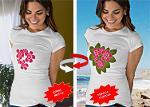 Güneşte Renk Değiştiren T-Shirt