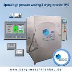 W40 Spezial Hochdruck-Wasch- & Trocknungsanlage