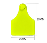 99*75mm Cow /Cattle TPU ear tag