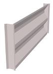 Profiled wall silo