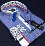 Model Spring men's shirts production